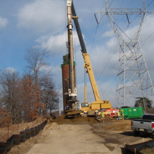 Transmission tower replacement