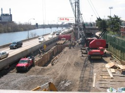 South Street Bridge project done for the City of Philadelphia, by Foundation Structures