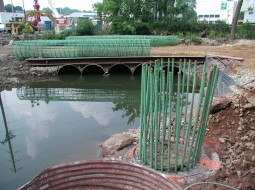 Nottingham Way Bridge Replacement project completed by Foundation Structures