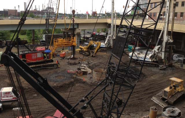 Foundation Structures is a drilling company in Philadelphia specializing in caissons, foundation drilling, drilled piers, drilled shafts, and drilled holes.